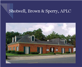 C. Randolph Brown: Lawyer with Shotwell, Brown & Sperry A Professional Law Corporation