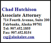 Chad  Hutchison (Fairbanks,  AK)