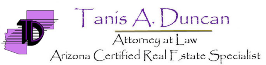 Law Office of Tanis A. Duncan (Tucson, Arizona)