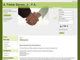 A. Parker Barnes, Jr., P.A. (Beaufort, South Carolina)