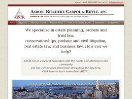Aaron, Riechert, Carpol & Riffle, APC (San Francisco, California)