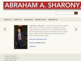Abraham A. Sharony, P.C. (Macon, Georgia)