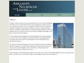 Abramoff, Neuberger and Linder, LLP (Baltimore, Maryland)