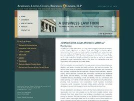 Ackerman, Levine, Cullen, Brickman & Limmer, LLP (Nassau Co., New York)