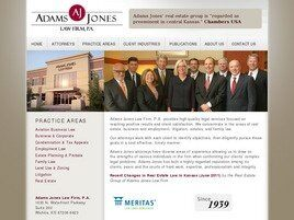 Adams Jones Law Firm, P.A. (Wichita, Kansas)