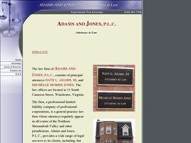 Adams and Jones, P.L.C. (Winchester, Virginia)