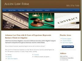 Allen Law Firm A Professional Corporation (Little Rock, Arkansas)
