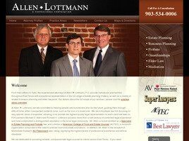 Allen - Lottmann - Kimmel A Professional Corporation (Smith Co., Texas)