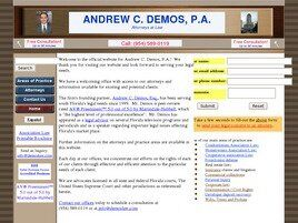 Andrew C. Demos, P.A. (Broward Co., Florida)