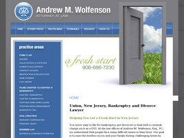 Andrew M. Wolfenson, Esq., P.C. (Union Co., New Jersey)
