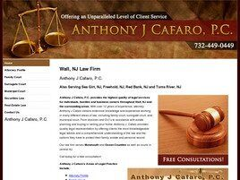 Anthony J. Cafaro, P.C. (Monmouth Co., New Jersey)