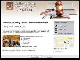 Anthony Green Attorney At Law (Fort Worth, Texas)