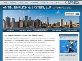Antin, Ehrlich & Epstein, LLP Attorneys at Law (New York, New York)