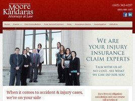 Moore • Faust Injury Law Group / The Personal Injury Attorneys of Bob Moore & Associates (Rapid City, South Dakota)