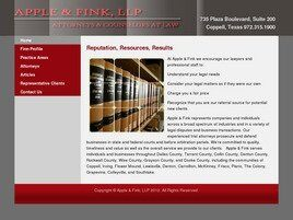 Apple & Fink, L.L.P. (Dallas, Texas)