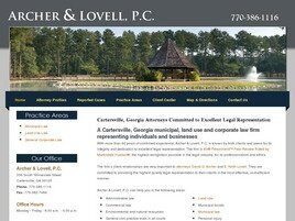 Archer & Lovell, P.C. (Cartersville, Georgia)