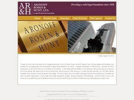 Aronoff, Rosen & Hunt A Legal Professional Association (Cincinnati, Ohio)