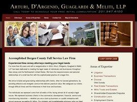 Arturi, D'Argenio, Guaglardi & Meliti, LLP (Essex Co., New Jersey)