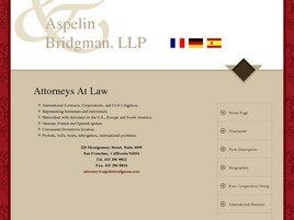 Aspelin & Bridgman, L.L.P. (San Francisco, California)