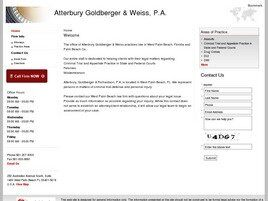 Atterbury Goldberger & Weiss, P.A. (Palm Beach Co., Florida)