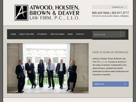 Atwood, Holsten, Brown and Deaver Law Firm, P.C., L.L.O. (Lincoln, Nebraska)