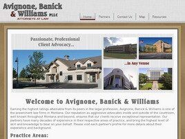 Avignone, Banick & Williams, PLLC (Yellowstone Co., Montana)