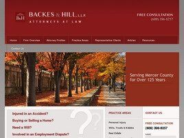 Backes & Hill, L.L.P. (Mercer Co., New Jersey)