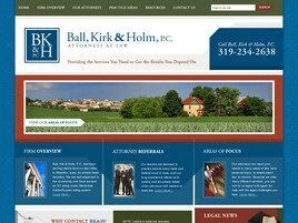 Ball, Kirk & Holm, P.C. (Waterloo, Iowa)