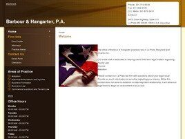 Barbour & Hangarter, P.A. (Upper Marlboro, Maryland)