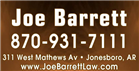Barrett Joe (Jonesboro, Arkansas)