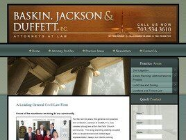 Baskin, Jackson & Duffett, P.C. (Fairfax Co., Virginia)