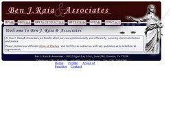 Ben J. Raia & Associates (Galveston Co., Texas)