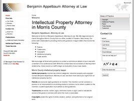Benjamin Appelbaum Attorney at Law (Morris Co., New Jersey)