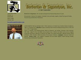 Berberian & Sagatelyan, Inc. A Law Corporation (San Mateo, California)