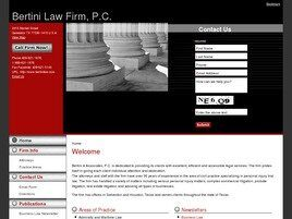 Bertini Law Firm, P.C. (Galveston, Texas)
