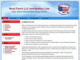 Beryl Farris LLC Immigration Law (Atlanta, Georgia)