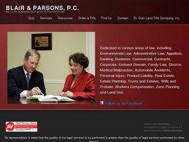 Blair and Parsons, P.C. (Pell City, Alabama)