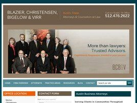 Blazier, Christensen, Bigelow & Virr A Professional Corporation (Austin, Texas)
