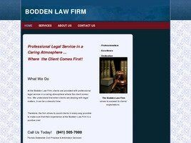 Bodden Law Firm (Sarasota Co., Florida)
