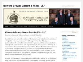 Bowers, Brewer, Garrett & Wiley LLP (Huntington, Indiana)