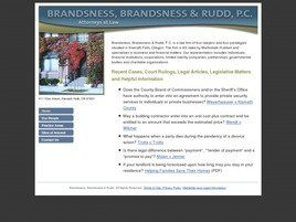 Brandsness, Brandsness & Rudd, P.C. (Deschutes Co., Oregon)