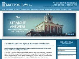 Britton Law, P.A. (Fayetteville, North Carolina)