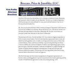 Brocato & Price, LLC (Towson, Maryland)