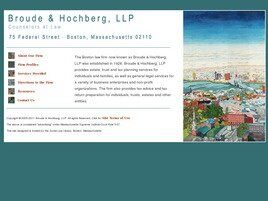 Broude & Hochberg, L.L.P. (Boston, Massachusetts)