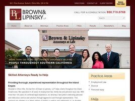 Brown & Lipinsky, LLP (Riverside Co., California)