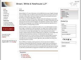 Brown, White & Newhouse LLP (Los Angeles, California)