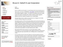 Bruce A. Hatkoff A Law Corporation