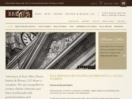 Burt, Blee, Dixon, Sutton & Bloom, LLP (Fort Wayne, Indiana)