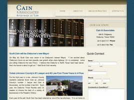 Cain & Associates Attorneys at Law (Cleburne, Texas)