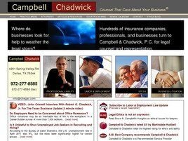 Campbell & Chadwick, P.C. (Dallas, Texas)